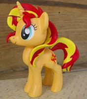 Commission-Sunset Shimmer Figure by LostInTheTrees