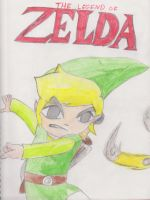 Toon Link - Loz:Spirit Tracks by SuperNess1000