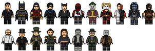 Lego Batman: Arkham City by Stuart1001