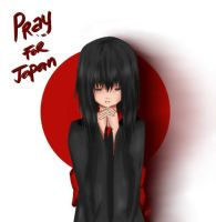 PRAY FOR JAPAN by aehtla023