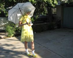 Morton Salt Girl Costume by miss-a-r-t