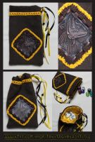 Luxury Anubis Pouch 02: Great for Tarot, Dice etc. by ImogenSmid