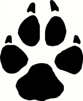 Wolf-paw-print by Writer-Colorer
