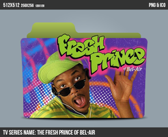 The Fresh Prince Of Bel-air Folder ICON by kasbandi