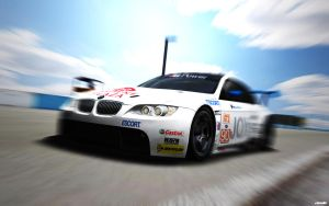 BMW M3 E92 GT2 at Sebring 2 by ZowLe