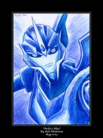 Transformers Prime Arcee - Perfect Blue by Kat-Nicholson