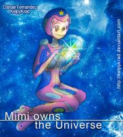 Mimi owns the universe by KelpyKrad