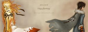 Happy Birthday Naruto and Menma - 2012.10.10 Final by Iceveyn