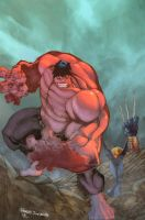 RED HULK by d-forme