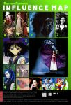 Infamous Influence Map by ElectronicRainbow