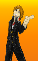 Yosuke shaded by Colliequest