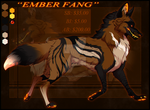 ''EMBER FANG'' (CLOSED) by NinjaKato