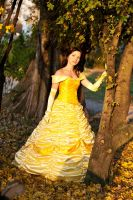 Belle - Into the sunset by Rayi-kun