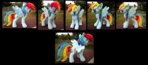 Custom Rainbow Dash by fireflytwinkletoes