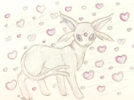 C. Entry- Attractive Espeon by Inutileespoirs