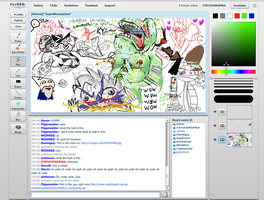 iscribble shits by Pikaronii