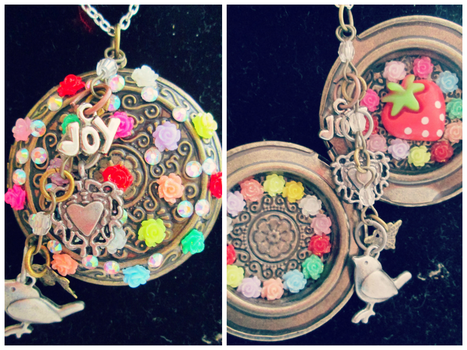 Colorful Design Locket by Stardom7