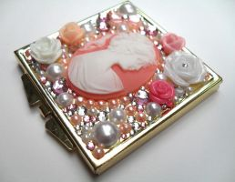 Compact Mirror Pretty In Pink by Jin-ju