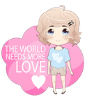 The World Needs More Love by FinalSavior