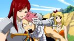 Erza: Head-crushing hug by BlissfullyDisturbed