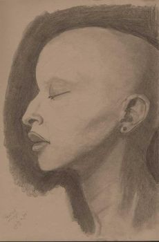 Profile Study Sketch by kendrin