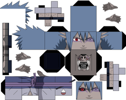 What If Sasuke Sage Mode full Sage Transformation by hollowkingking
