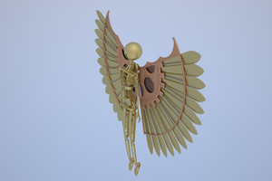 Little Brass Icarus by SinisterThief