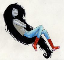 Marceline's a vampire queen -AT- by HolyCowWorshipper