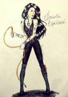 Isabelle Lightwood by Linaia