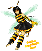 Such a Busy Little Bee by HomunculusLover