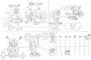 Sonic AND Mario Olympics by sonictopfan