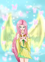 MLP: Kind Fluttershy by AngelSakana-96