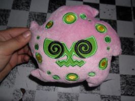 442 Spiritomb plush by xmorris33
