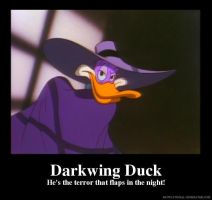 Darkwing Duck Motivational Poster by slyboyseth
