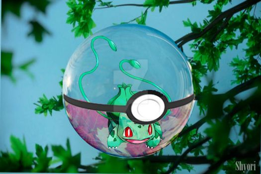 Pokeball Bulbasur by condemilenio