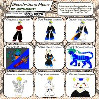 Bleach sona meme by kittypetro