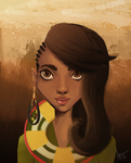 The Girl from Kenya by BindingOfAaron