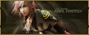 Final Fantasy XIII Lightning by Joe88Design
