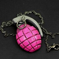 Pink Grenade by beatblack