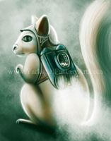 Skirl with a t jet pack - drawing challenge by Yarkspiri