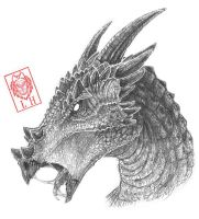 Dracorex by LycanthropeHeart