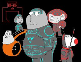 Family Guy Tron by ropa-to