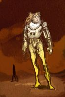 CHILLSKY32: Space Woman Eve by Hamsta180