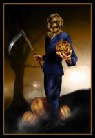 Halloween Scarecrow - color by hever