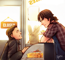 SPN - Sabriel Bakery by Meinarch