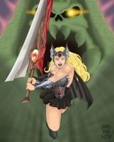 Commission Nightmare She-Ra by darkthewise