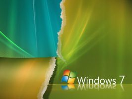Windows 7, new looking vista?2 by ganoderma