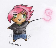 Harry Potter: Chibi Tonks by Annmey