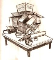 Stacked Boxes by WickedHearts4Lyph