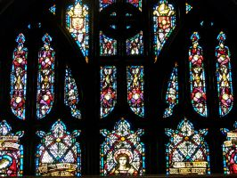 stained glass stock by WKJ-Stock